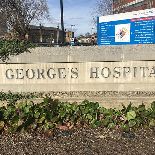 Project - St Georges Hospital - Tooting
