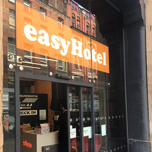 Project - easyhotels Manchester and Liverpool